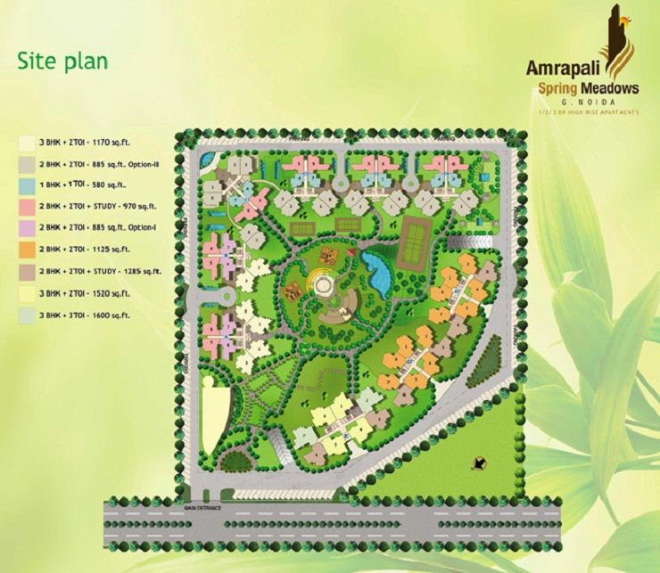 Amrapali Spring Meadows (With Images)
