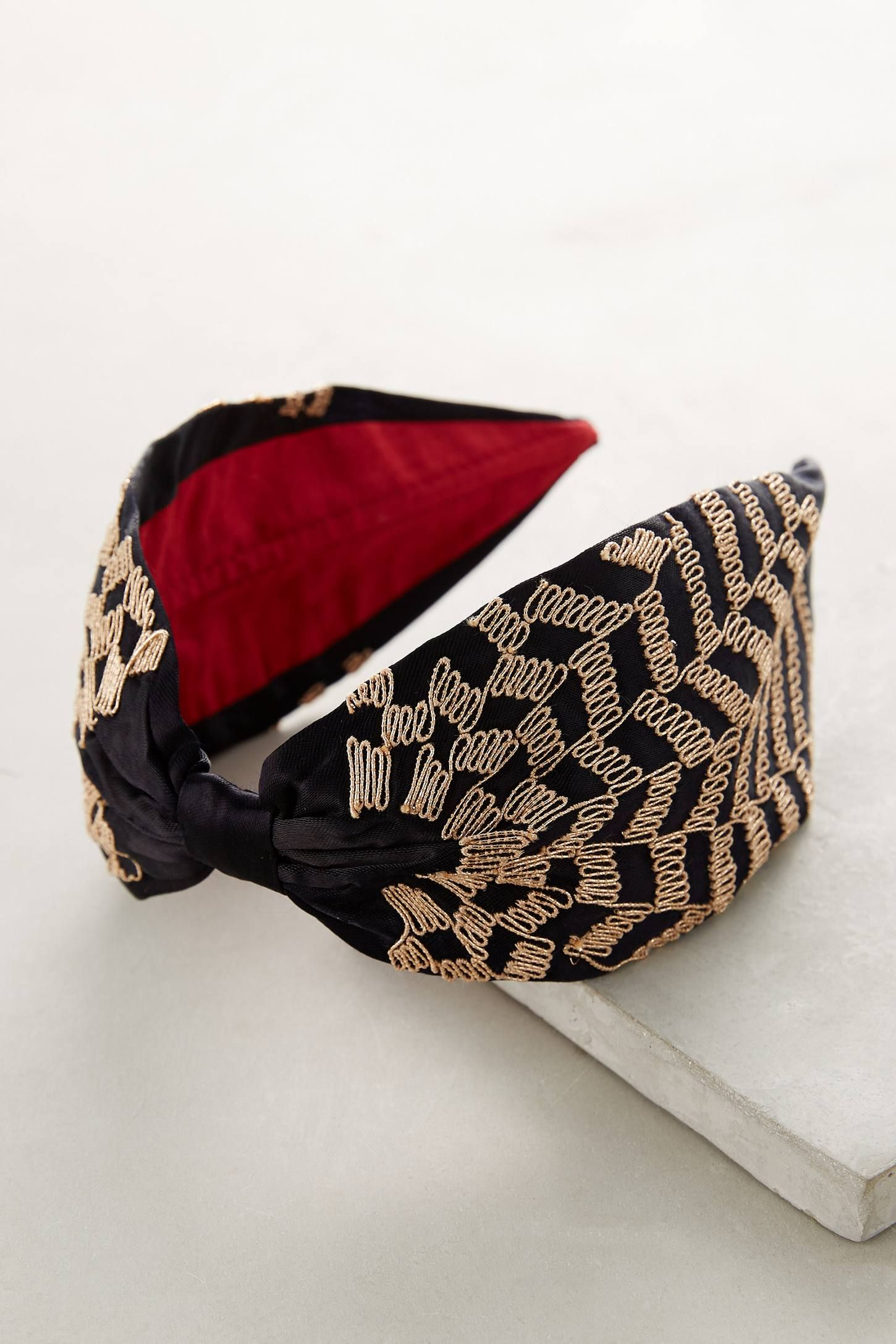 Anthropologie Striped Bow Headband QjMjT
