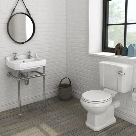 Keswick 4 Piece Traditional Bathroom Suite From Victorian Plumbing Traditional Bathroom Suites Traditional Bathroom Traditional Toilets
