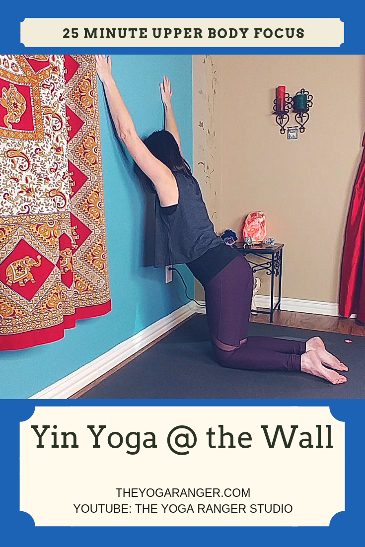 In this practice, we use the wall to deepen our poses. We ...