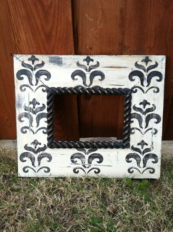 distressed picture frame 5x7 | Marcos | Pinterest | Marcos