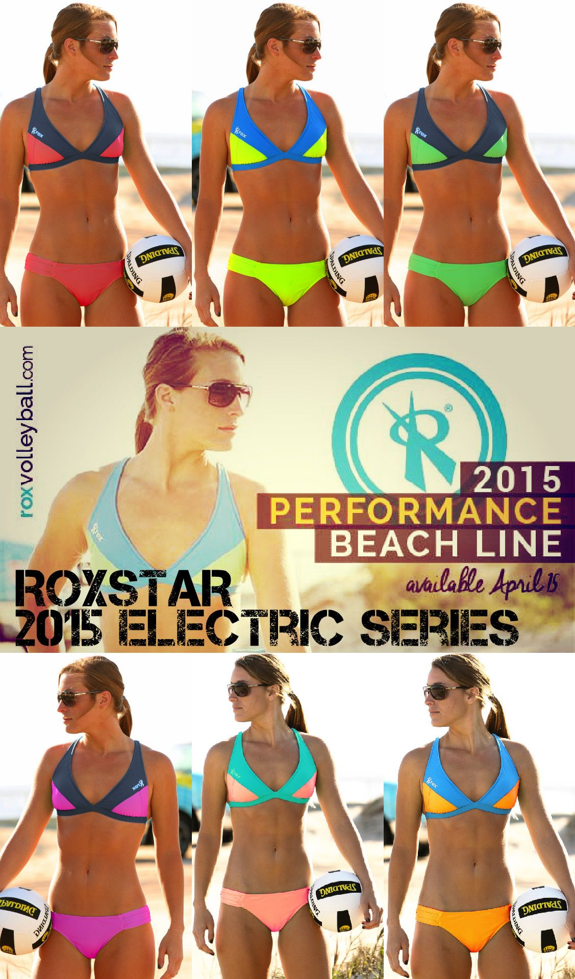 Looking For Something Bright This Season While On The Volleyball Court You Won T Be Misse Beach Volleyball Outfits Beach Volleyball Bikinis Volleyball Outfits