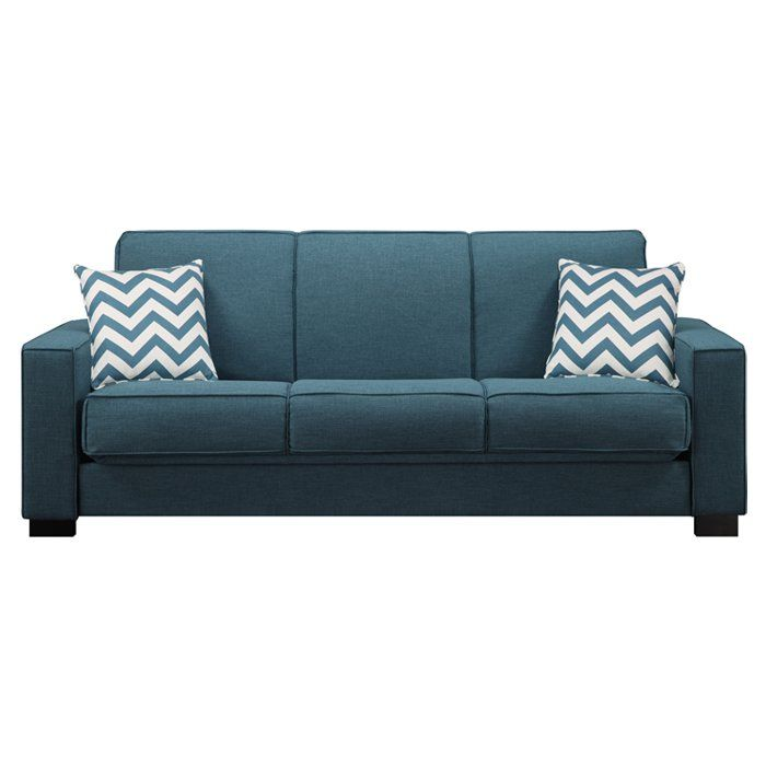 Simple Yet Highly Practical The Belding Convertible Sofa Is A
