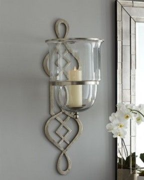 Superbe Hurricane Wall Sconces For Candles   Foter