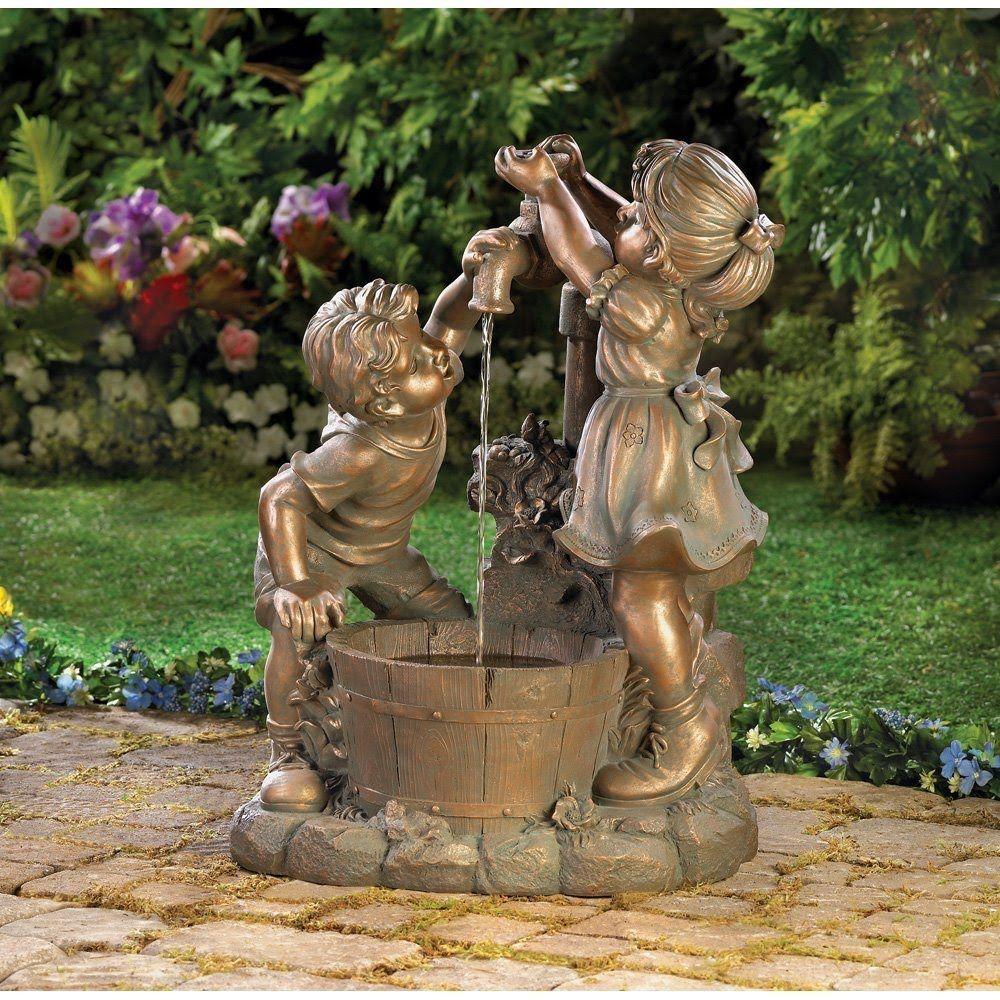 Found on Google from Garden water fountains