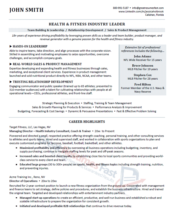 Great Resumes Fast Executive Resume Samples Professional Resume Samples F94ca738 Resumesample Re Resume Examples Professional Resume Samples Marketing Resume