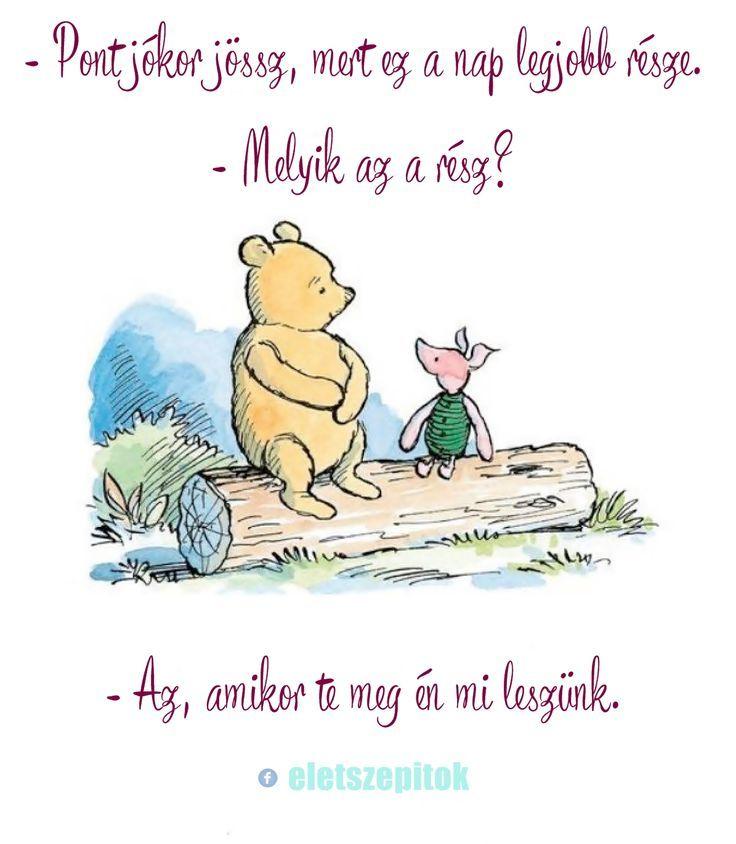 micimackó idézetek képekkel Újságpapírból font kosarak   Életszépítők   Pooh quotes, Winnie