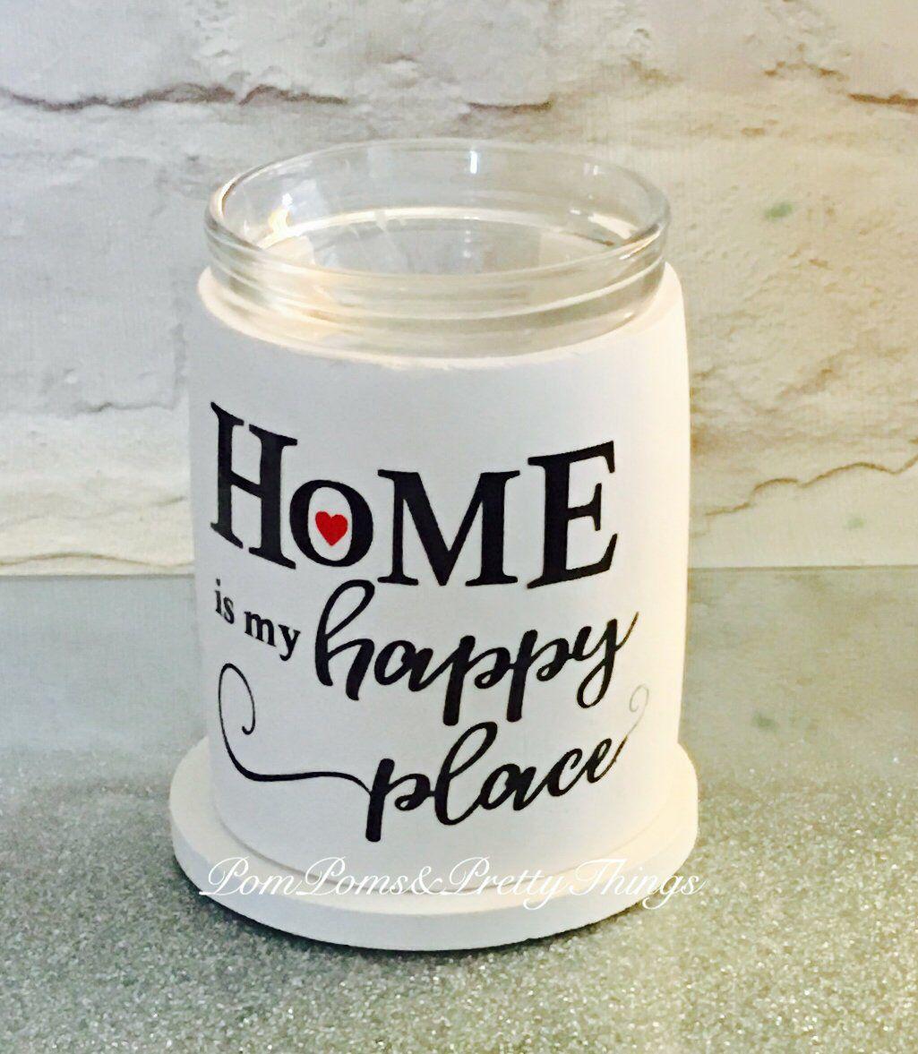 Wax Melts Brander.Home Is My Happy Place Wax Burner Home Wax Melt Burner Scented Wax