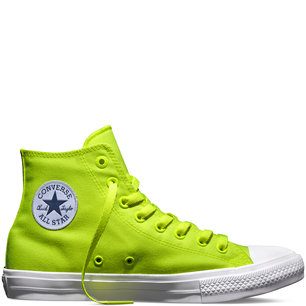 Chuck Taylor All Star II Volt GreenWhite men's 10 #steve