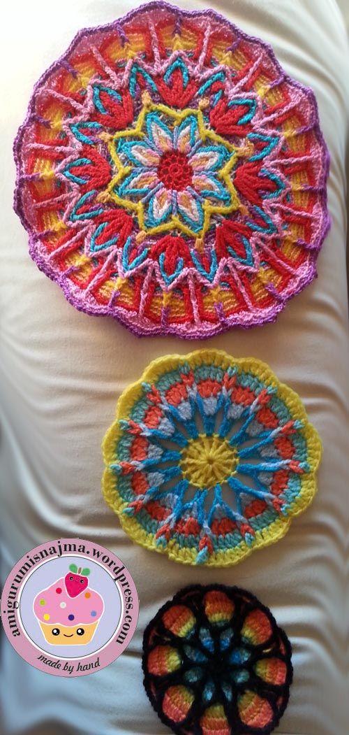 Overlay crochet- crochet mandala | Mandalas, Sueños y Patrones