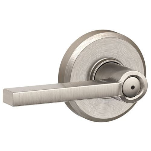 schlage f40 lat gsn latitude privacy door lever set with