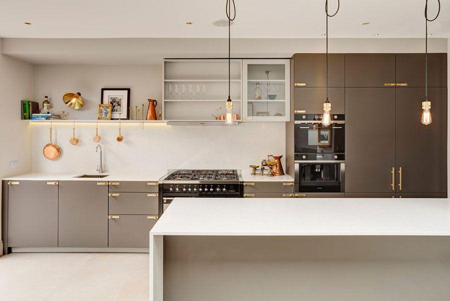 Cucina Color Tortora: 33 Idee per Arredi e Abbinamenti   Ev ...