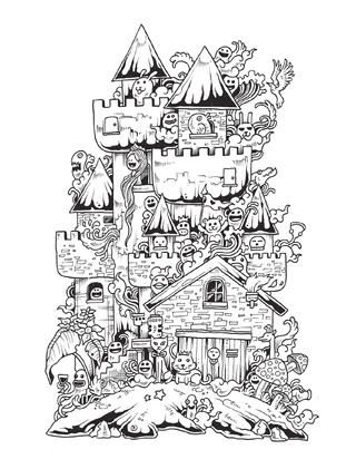 Doodle Invasion / mtm editores | Doodles, Newspaper and Digital