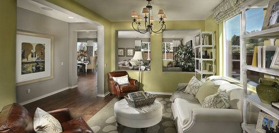 Andalusia by lennar homes living room stylish homes - Lennar homes interior paint colors ...