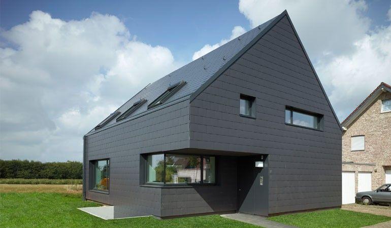 Einfamilienhaus baesweiler architektur pinterest for Einfamilienhaus architektur modern
