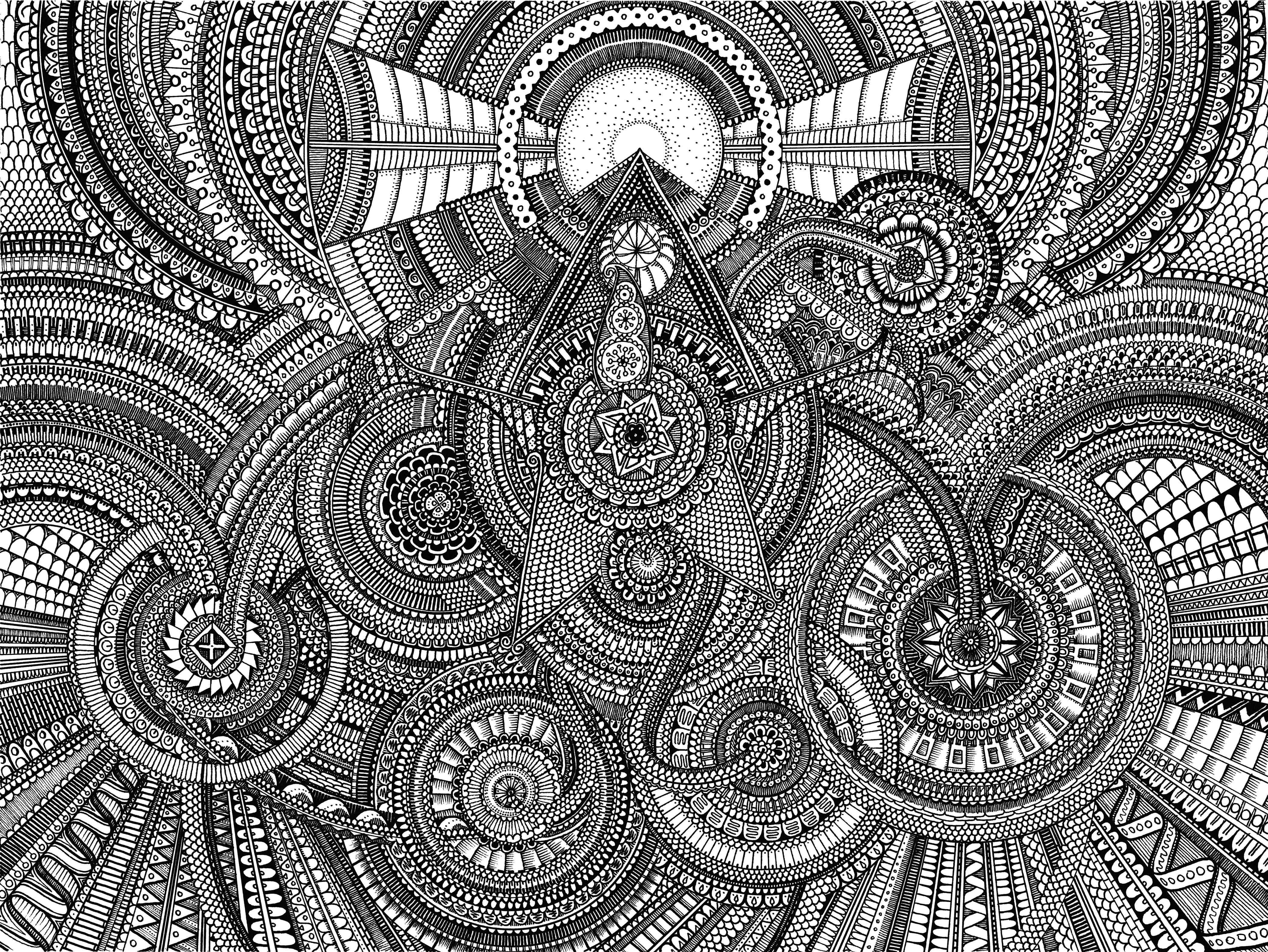 Mandala Coloring Pages Expert Level   Duam