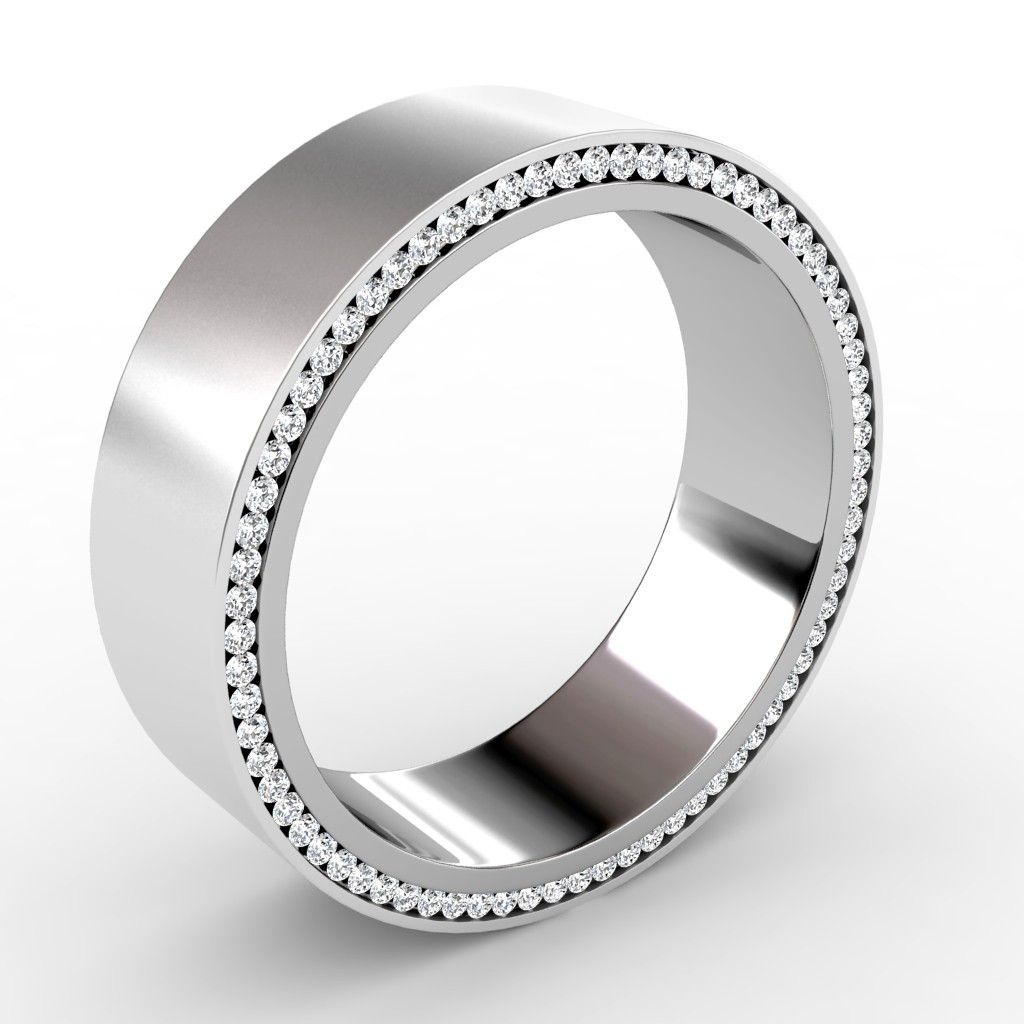 mens diamond platinum wedding bands are in style everywhere in the planet they might be - Mens Diamond Wedding Ring