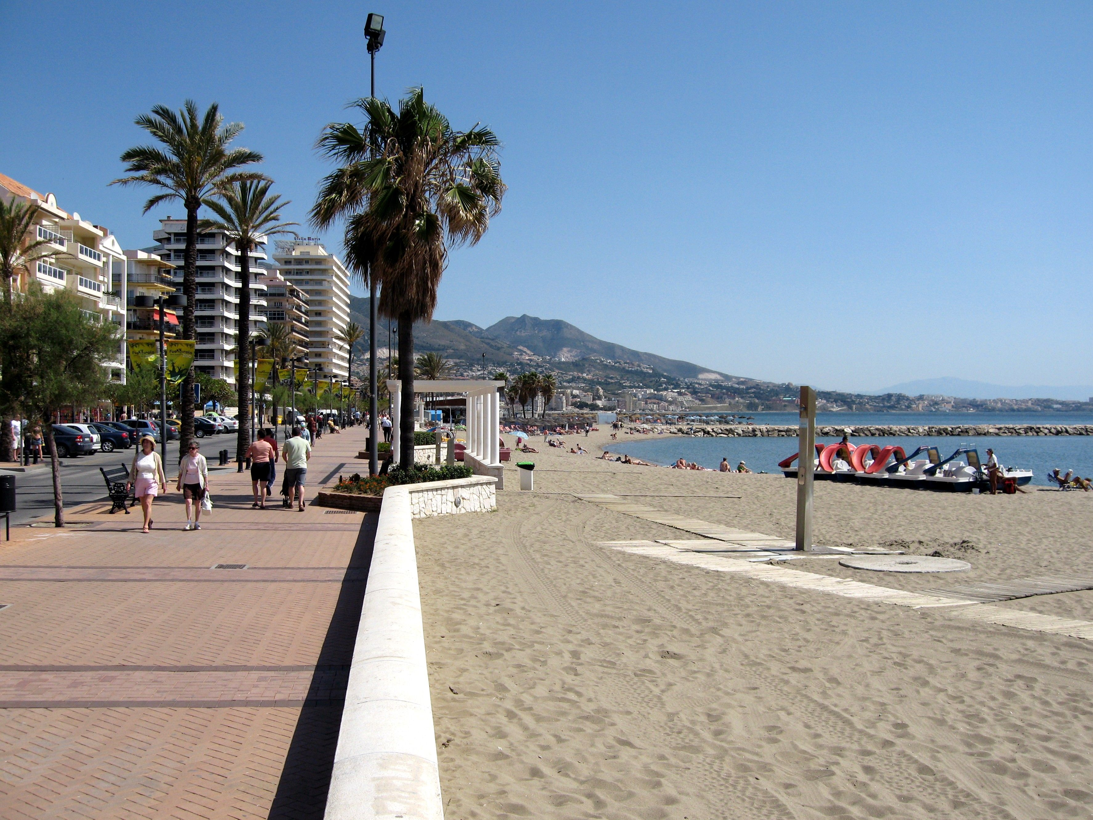 0a30c88183b151 Fuengirola beach, Costa del Sol. Miss walking through this beach!...2010<3  please come back!!