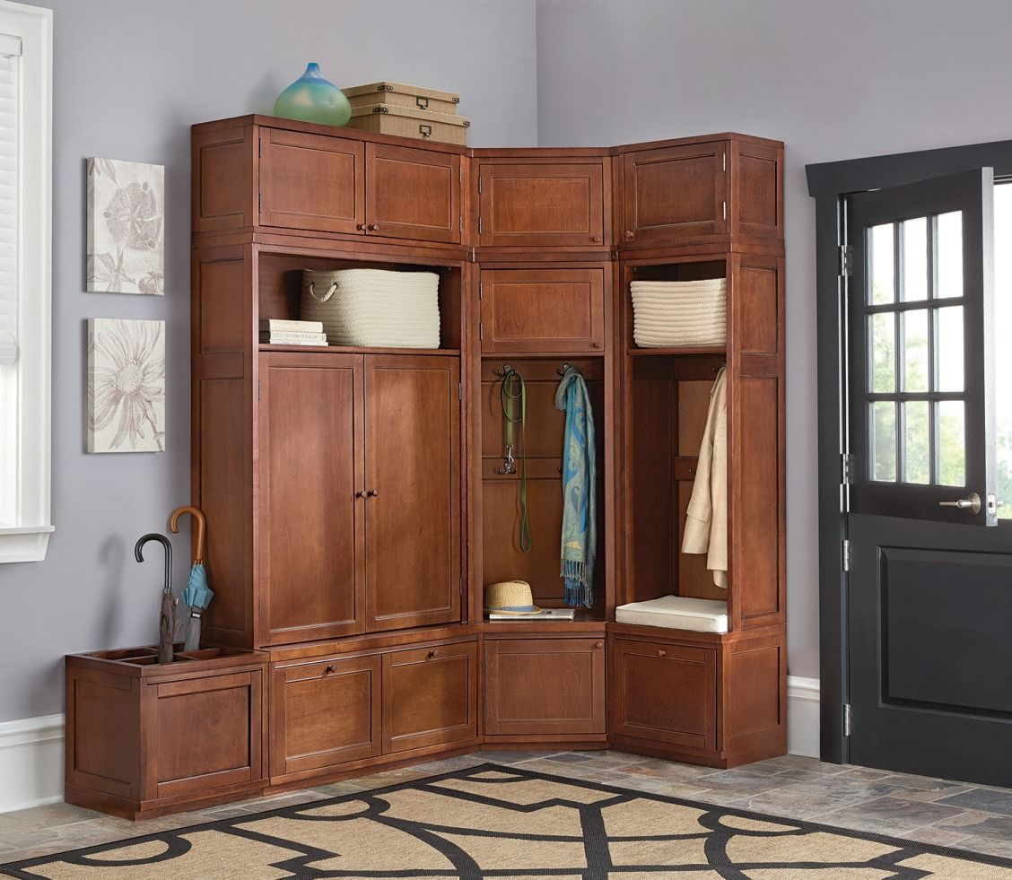 Mudroom Made Better With Storage That Works Our Modular Martha Living Collection Means Creating Organizational Units You Can