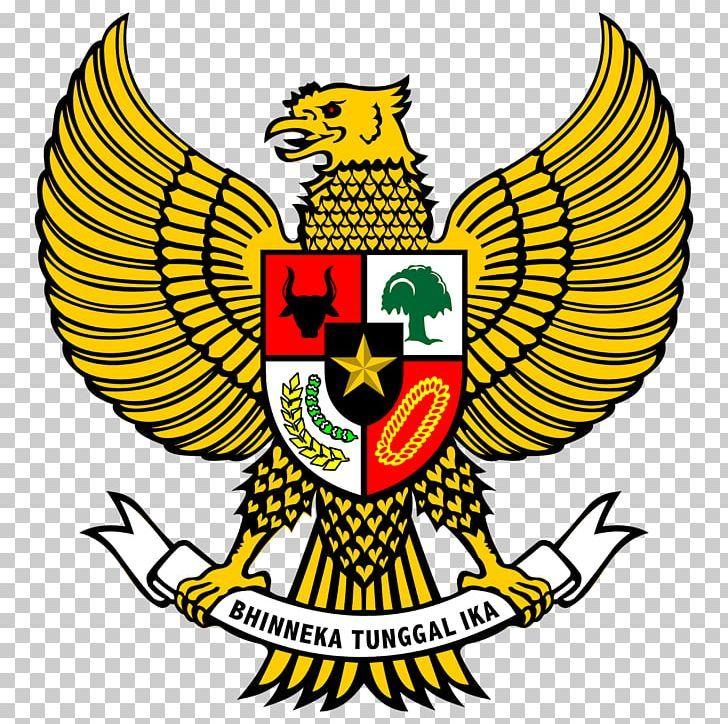 National Emblem Of Indonesia Garuda Pancasila Png Art Artwork Beak Black And White Coat Of Arms In 2020 Png Emblems Coat Of Arms