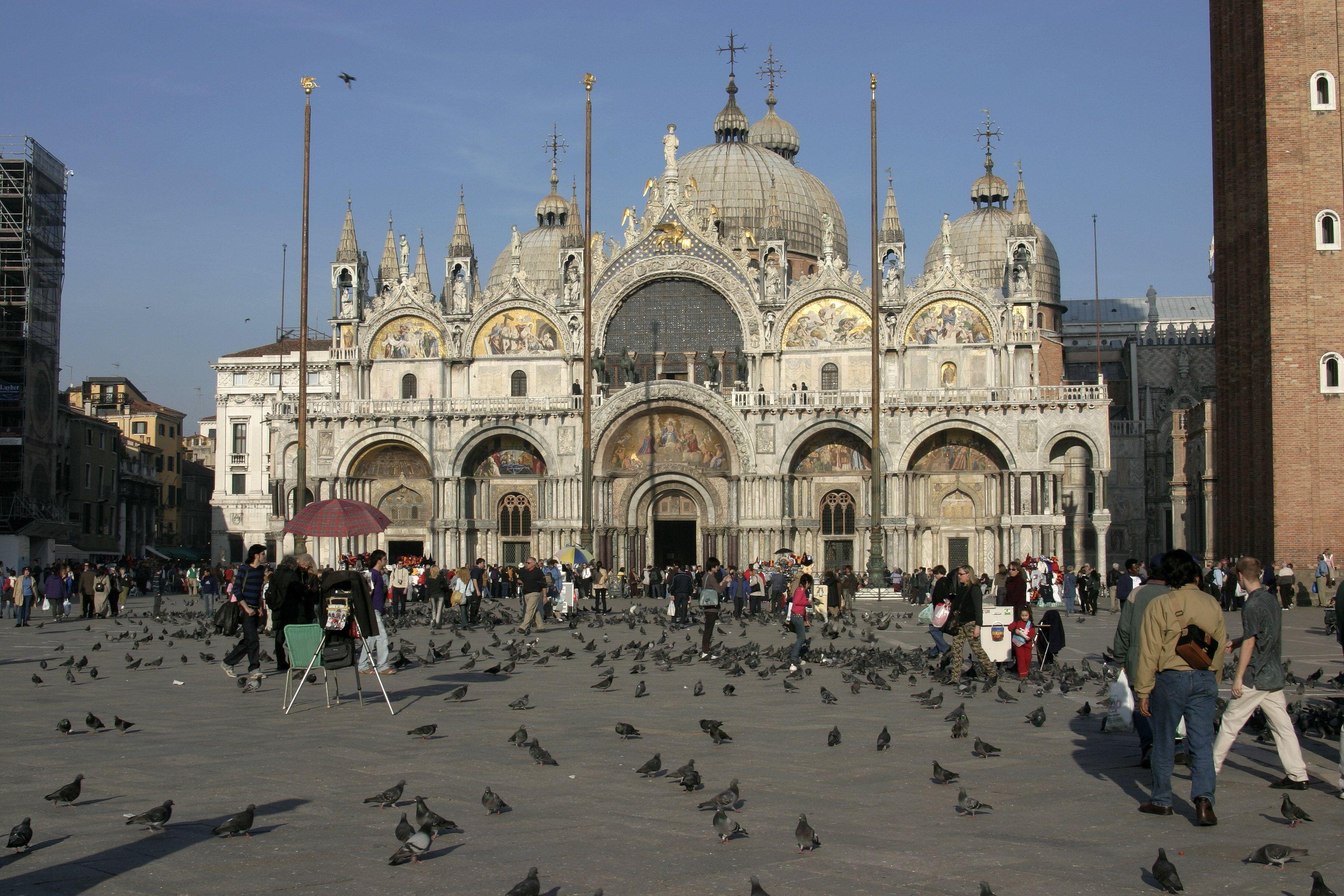 Venice | File:Venice - St. Marc's Basilica 02.jpg - 維基百科,自由的 ...