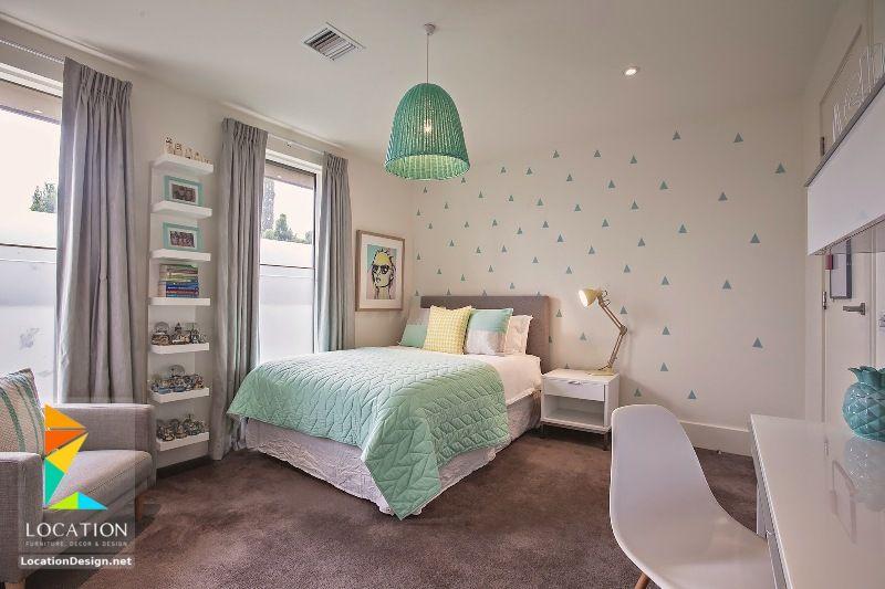 غرف نوم بنات 2018 2019 لوكشين ديزين نت Girls Bedroom Modern Big Girl Bedrooms Girl Room