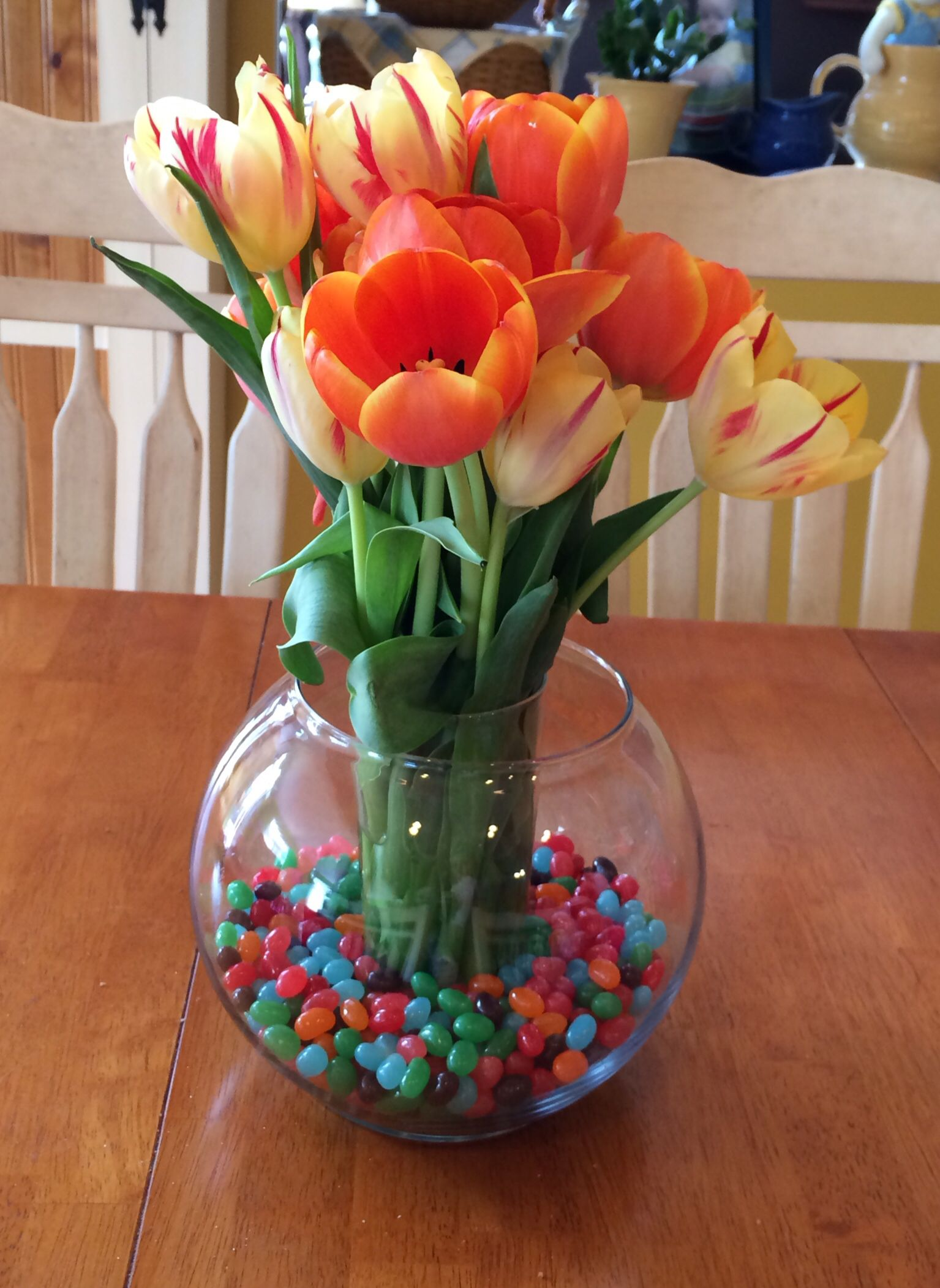 Tulips and Jelly Beans!