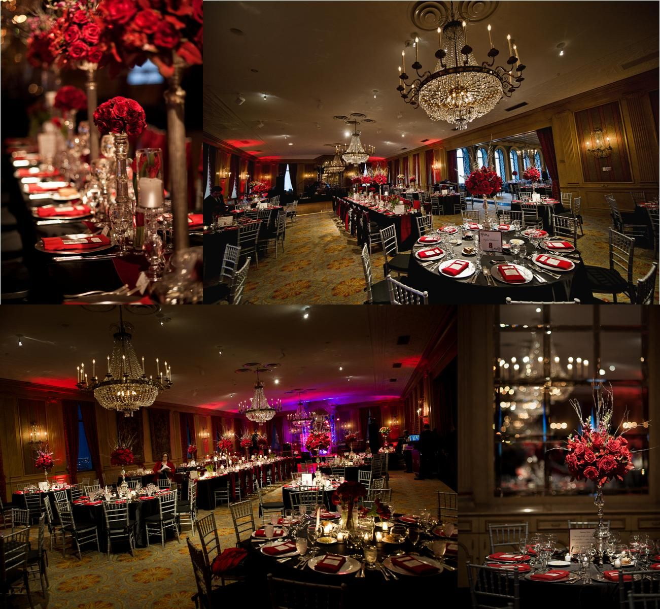 Wedding Table Black And Red Wedding Table Decorations blackred silver wedding decorations fly me to the moon real wedding