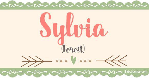 Sylvia Name