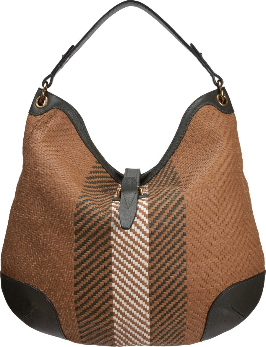 Belstaff Woven Crosby Hobo Bag at Barneys.com- cool idea for ...