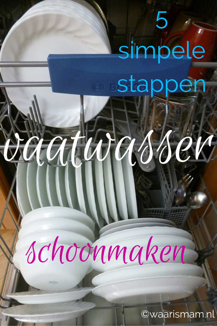 In 5 simpele stappen je vaatwasser schoonmaken tips and for Simpele keuken