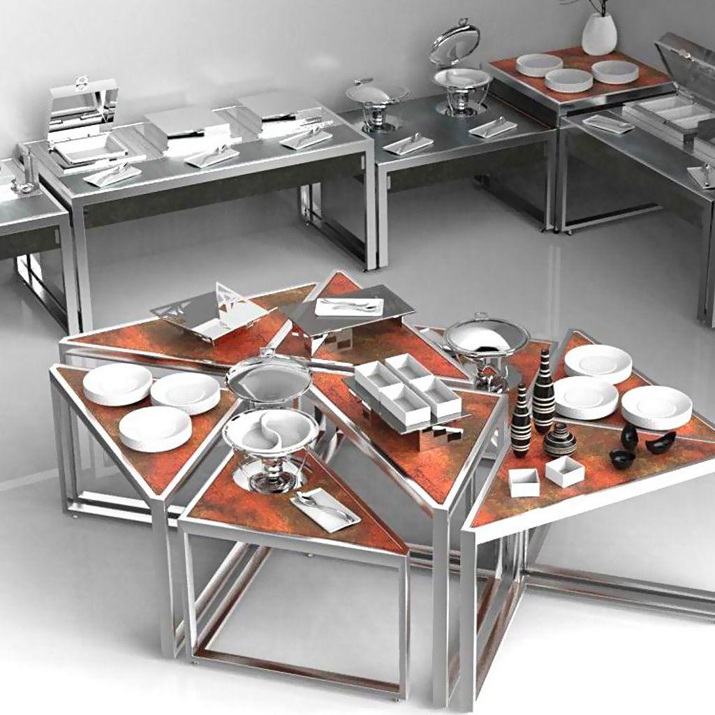 La Tavola Wonderbuffet Nesting Tables | La Tavola | Pinterest | Ale