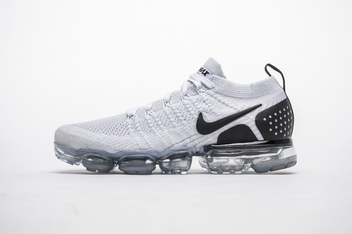 7598d84be16 Nike Air VaporMax 2.0 942842-103 White Black Mens Shoes1 Jordan Shoes For  Sale