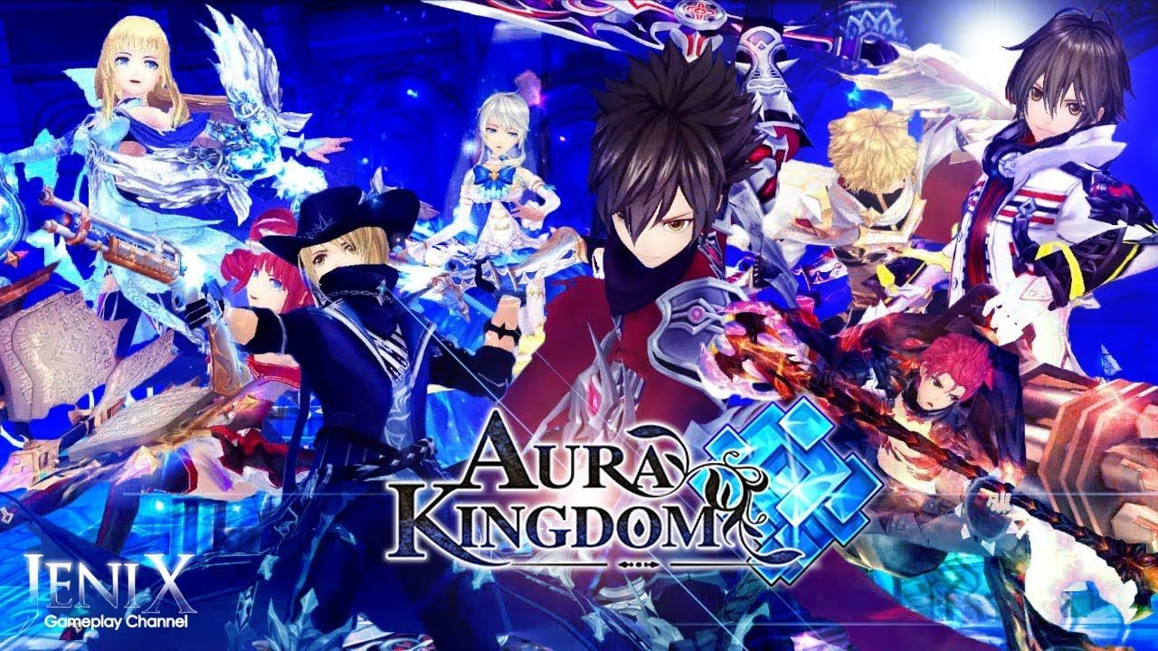 Aura Kingdom Gameplay / Open World MMORPG / Android / iOS