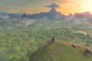 Top View 4k Ultra Hd Wallpaper Legend Of Zelda Breath Breath Of The Wild Legend Of Zelda
