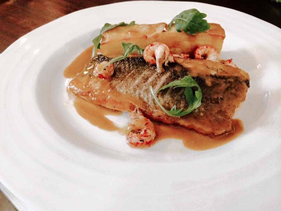 Delicious Fish Main Course Provided By Unique Norfolk Venues