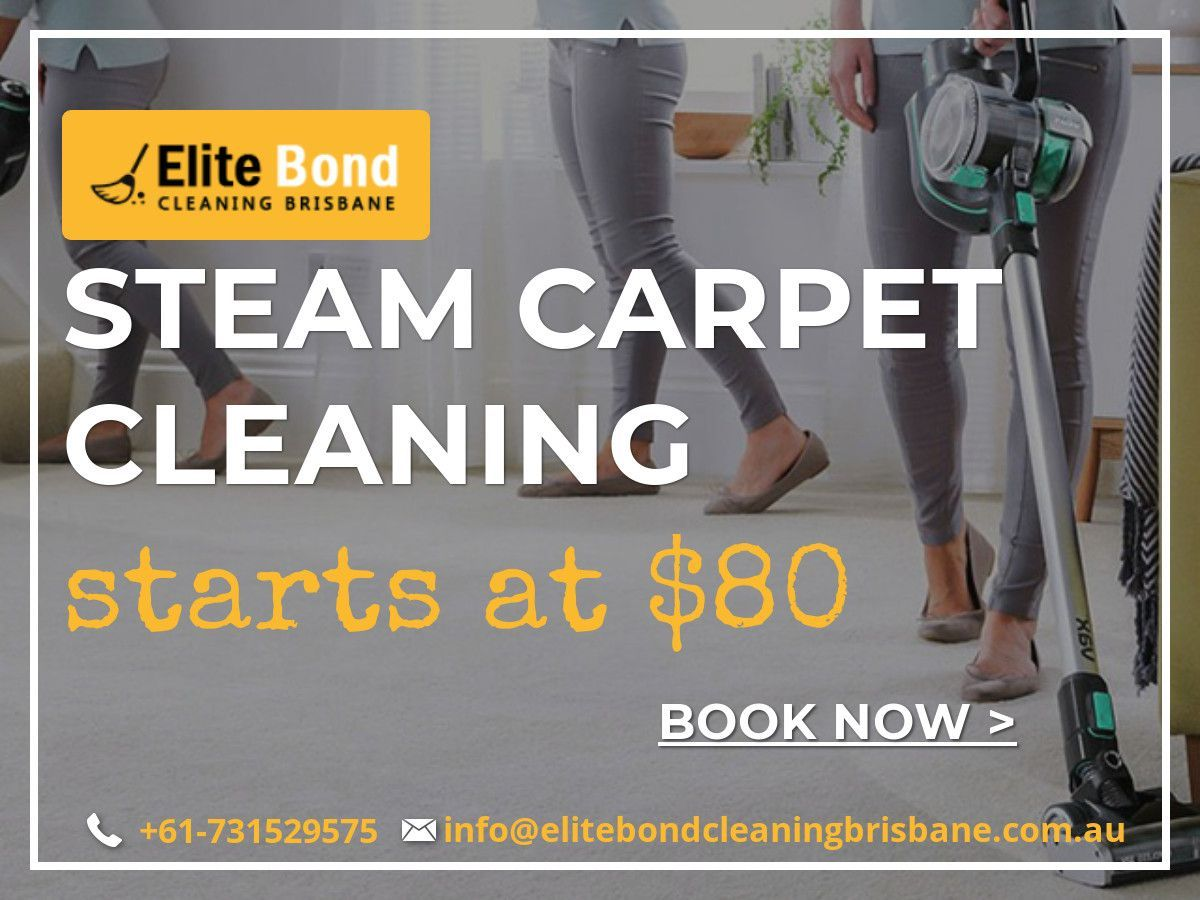 Steam Carpet Cleaning Starts At Only 80 Book Now With Elite Bond Cleaning Brisbane And Avail The Discount Cheap Cleaning Carpet Steam Cleaning