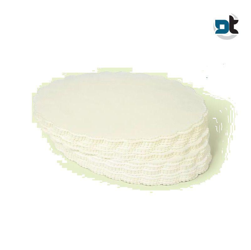 1000 SOTTOGELATI CARTA VEGETALE MONOUSO 11 CM gelateria gelato disco dolci torte
