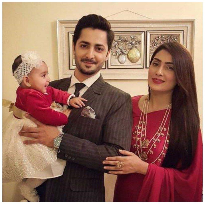 Ayeza Khan Celebrate Her Birthday With Baby
