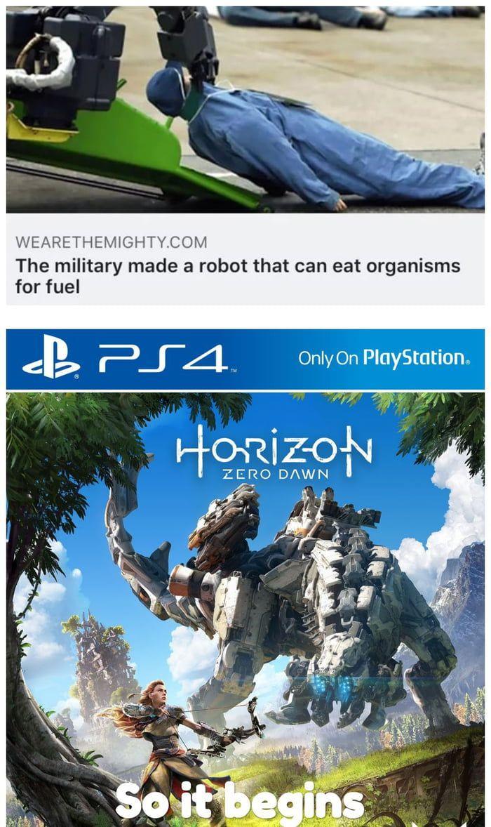 Horizon Zero Dawn is real