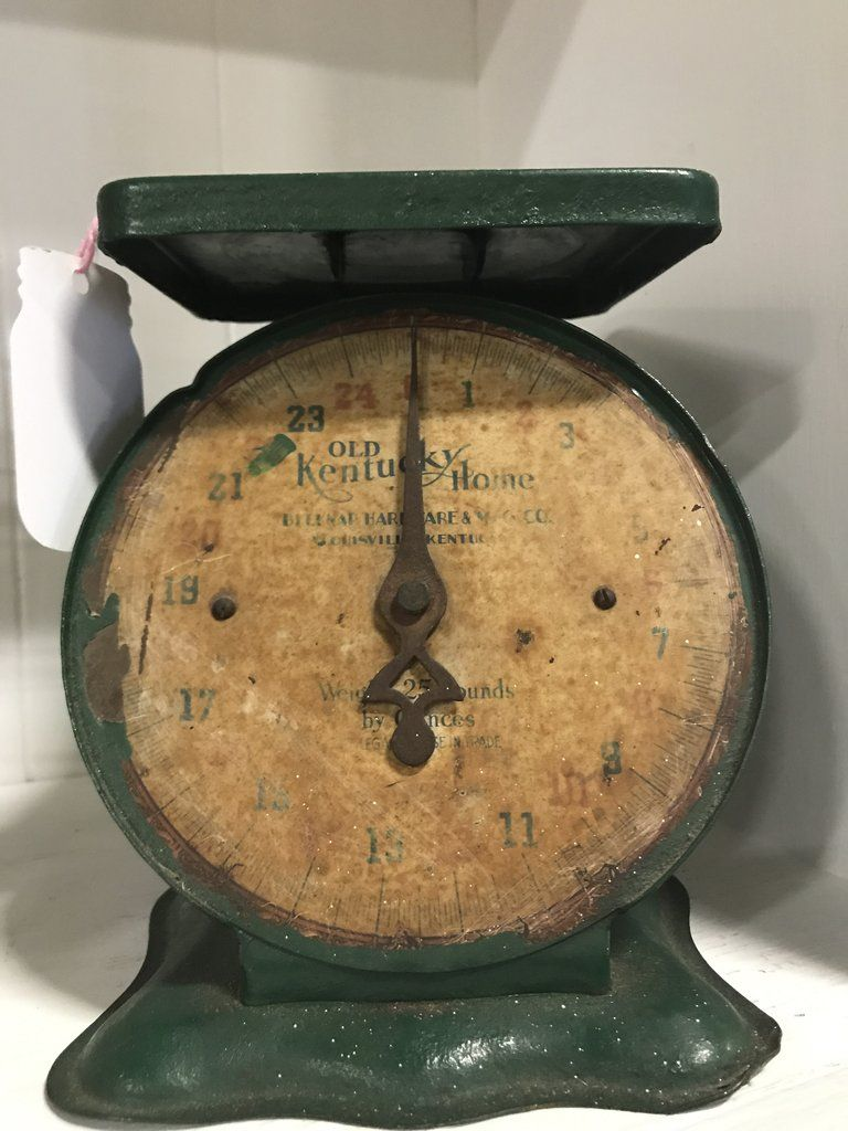 Old Kentucky Home Vintage Kitchen Scale