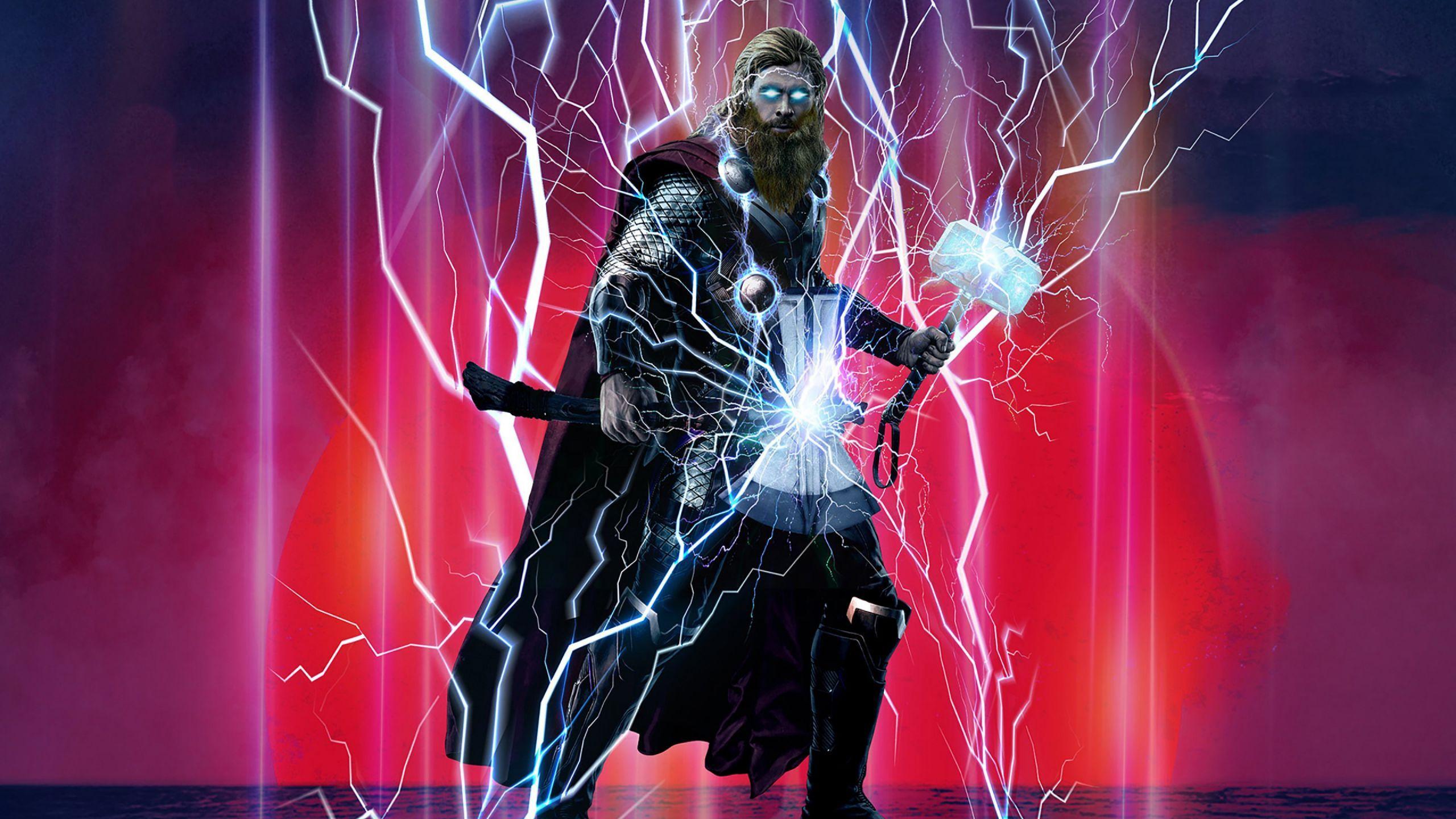 Avengers Endgame Wallpaper Lovely Thor Stormbreaker Mjolnir Avengers Endgame 4k Wallpaper Hd In 2020 Thor Wallpaper Avengers Wallpaper Thor
