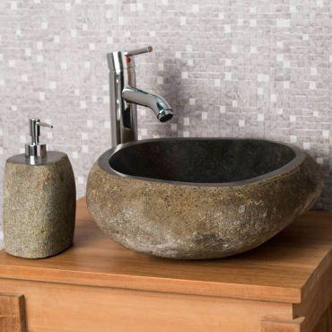Pour une salle de bain à l\u0027esprit naturelle et zen choisissez la