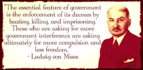 Ludwig von Mises's quotes, famous and not much - QuotationOf . COM