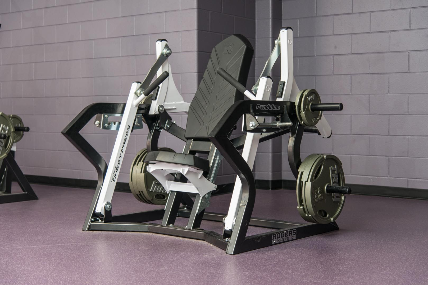 Vertical Chest Press Rogers Athletic No Equipment Workout Commercial Fitness Equipment Dream Gym