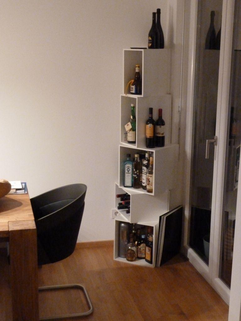 Regalsystem und Sofasystem von Cubit  Wohnzimmer bar, Minibar