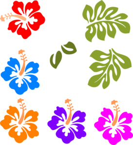 tropical mix clip art gracie s shower pinterest clip art rh pinterest ca luau clipart luau clipart