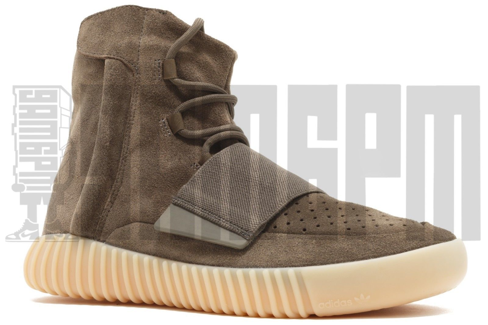 Adidas YEEZY BOOST 750 8 9 10 11 12 BROWN GUM SUEDE v1 turtle dove oxford