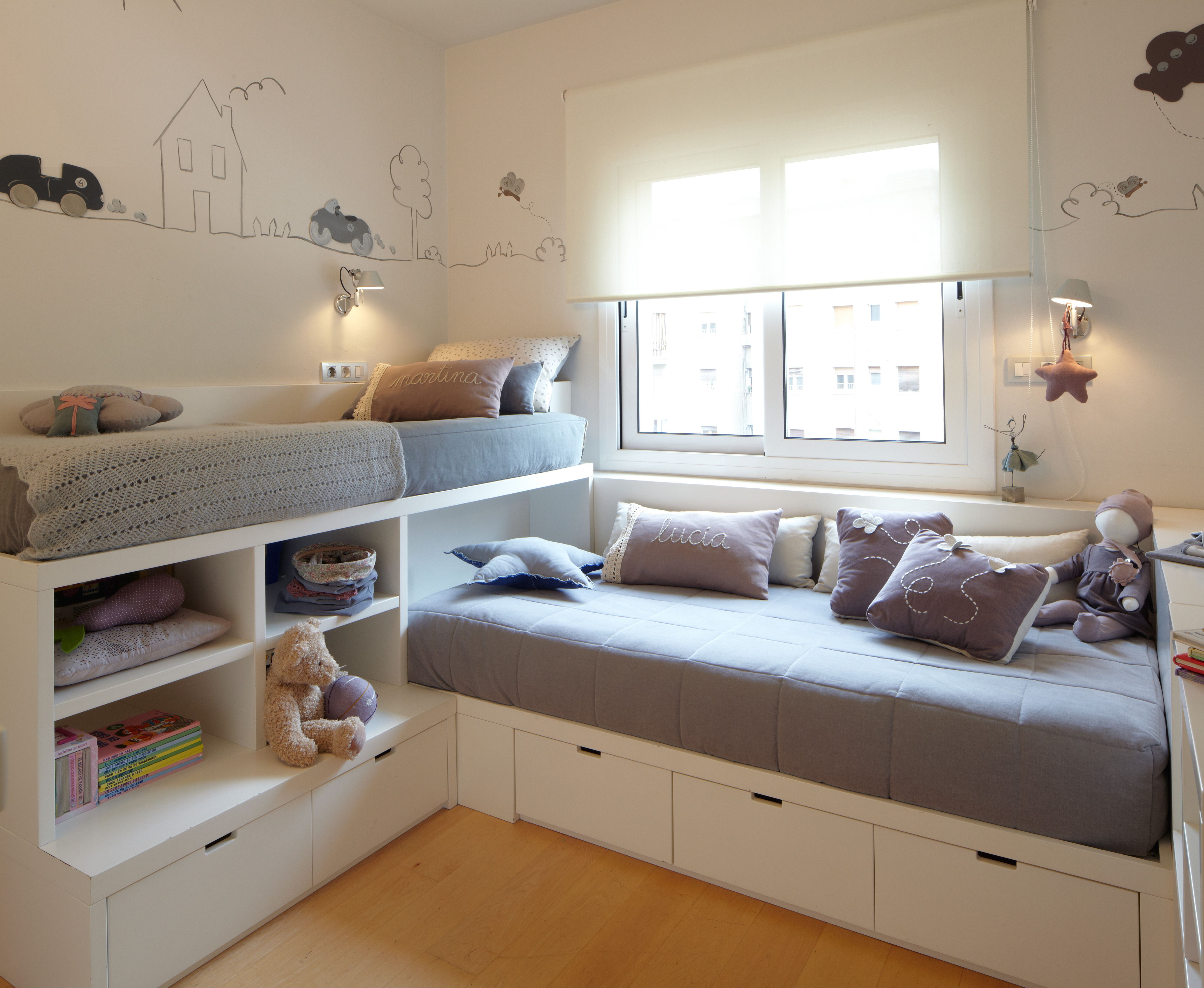 Built in loft bed ideas  dijous  Toys  Pinterest  Kids rooms Room and Bedrooms