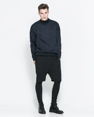 ZARA MAN ANKLE LENGTH LEGGINGS | Things to Wear